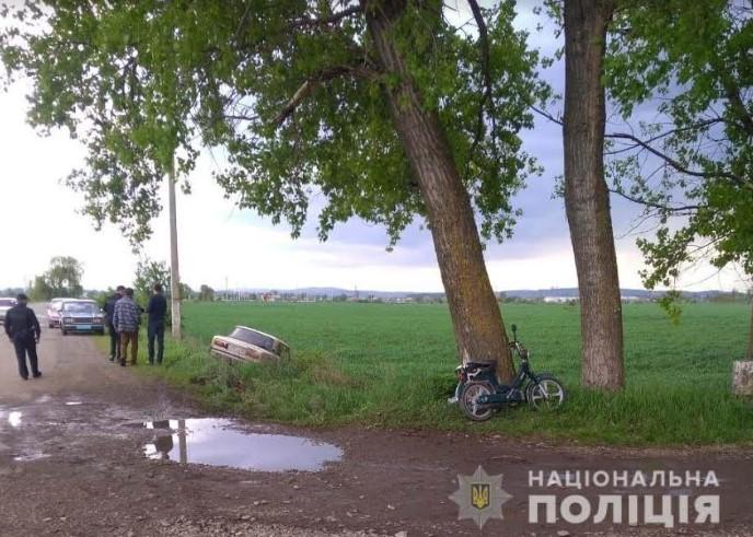 У Маршинцях під час ДТП травмовано водія мопеда