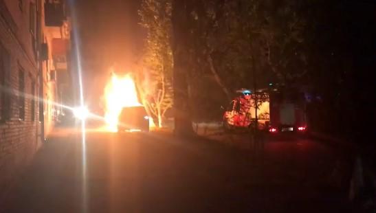 У Києві спалили автівку головного редактора телеканалу