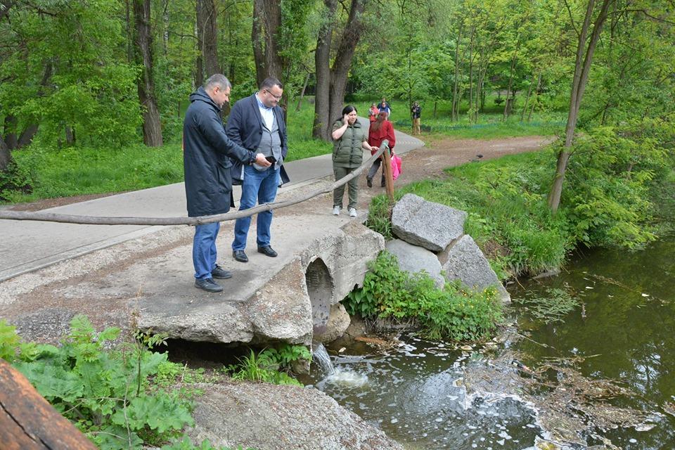"""У парку """"Жовтневому"""" через забруднення загинула риба та їжаки – Каспрук"""