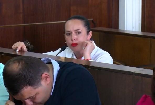 Сесія міськради: Сафтенко назвала депутата Яринича лицеміром і брехуном