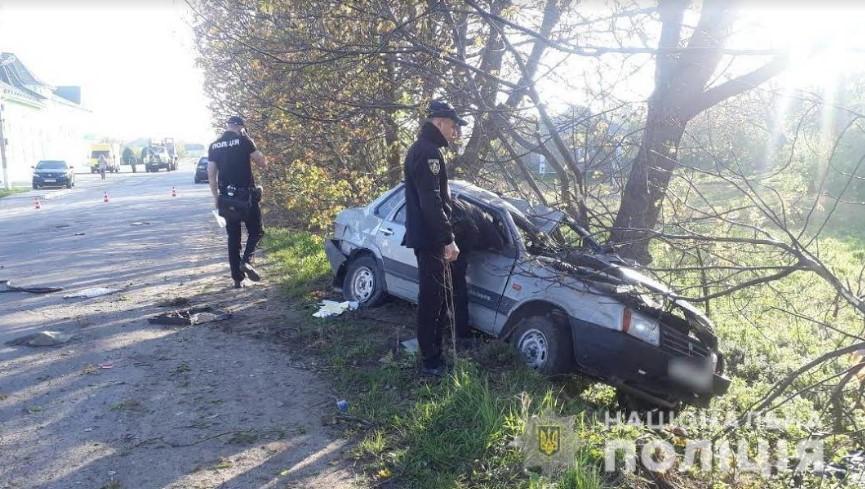 В ДТП на Сокирянщині загинула 20-річна дівчина