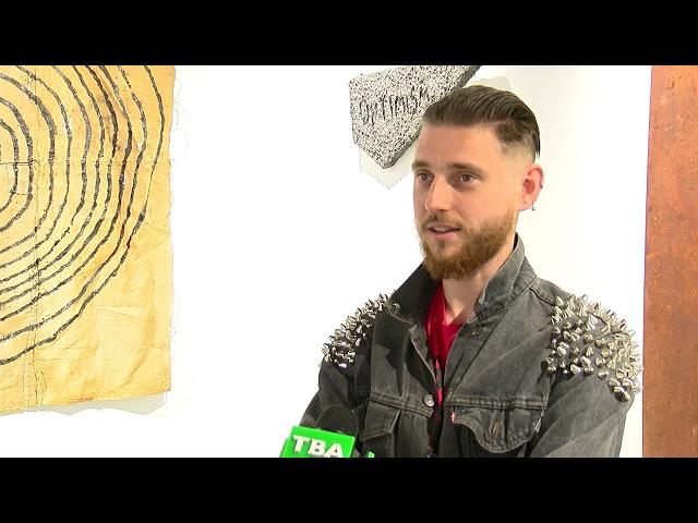 """""""Фактор тривоги"""" Б. Кухарського презентували в галереї у Чернівцях"""