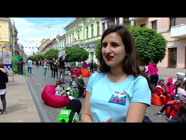 Євробус у Чернівцях: ігри для малечі, освітні обміни для молоді і воркшопи для бізнесу та ГО