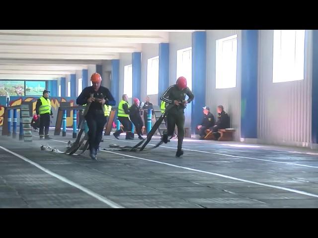 У Чернівцях тривають змагання з пожежно-прикладного спорту