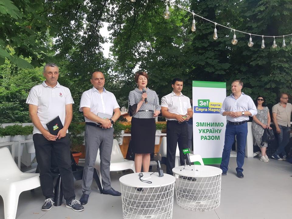 """У Чернівцях представили кандидатів у нардепи від """"Слуги народу"""""""