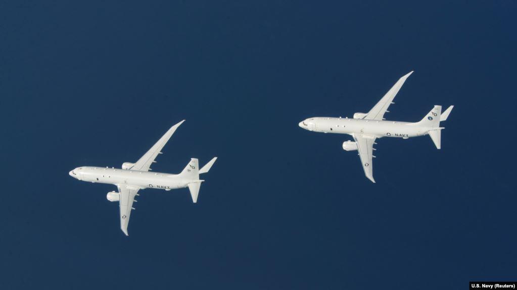 Два американських літаки провели розвідку біля узбережжя Криму – PlaneRadar