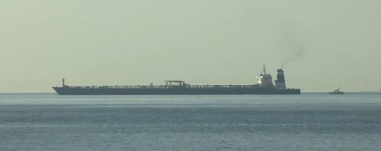У Гібралтарі затримали танкер, який перевозив нафту до Сирії