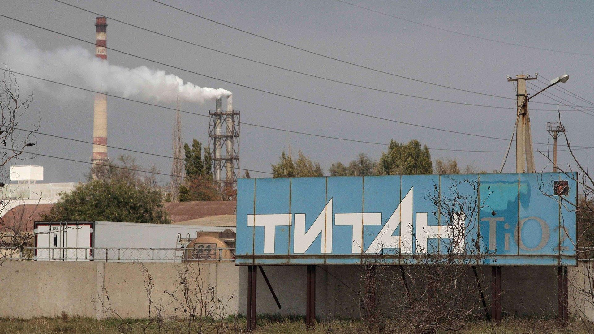 У двох містах окупованого Криму зашкалює рівень хімікатів у повітрі