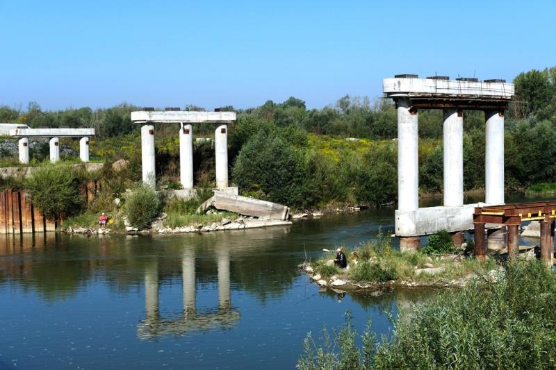 Міст у Маршинцях не збудують: Укравтодор перерозподілив кошти