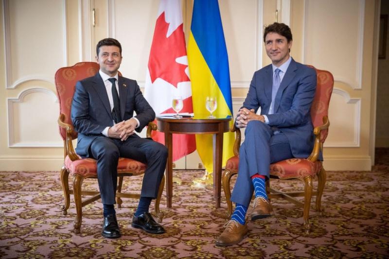 Зеленський обговорив питання Росії і G7 з прем'єром Канади