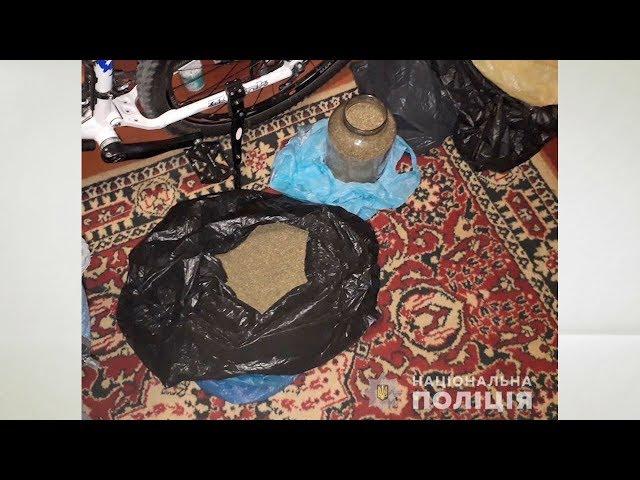 Кілограм канабісу та набої зберігав удома житель Новодністровська