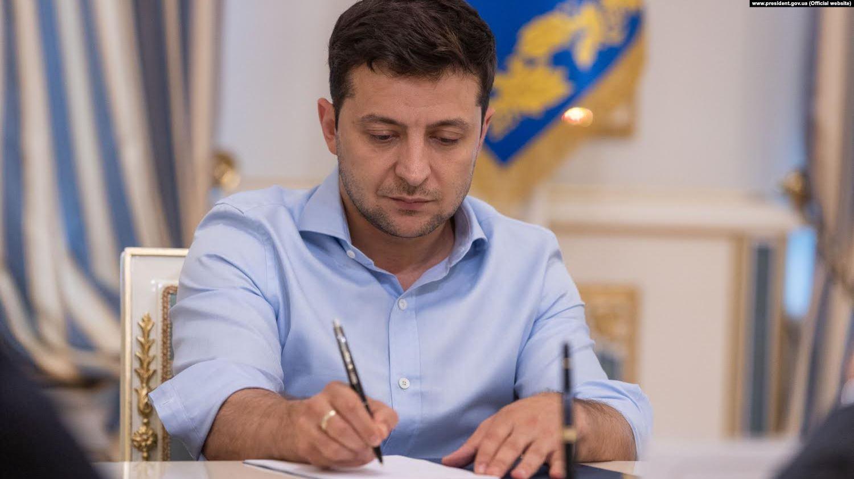 Зеленський підписав закон про вихід України з договору між країнами СНД