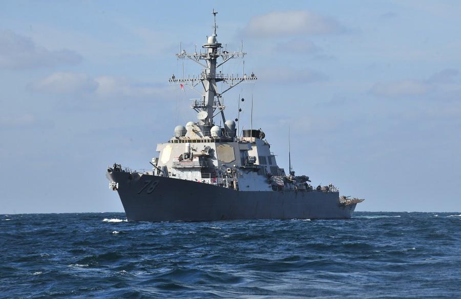Есмінець BМC США Porter увійшов у Чорне море