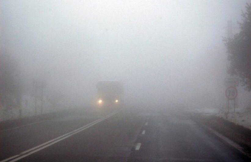 Туман та погана видимість. Водіїв просять бути обережними на дорогах