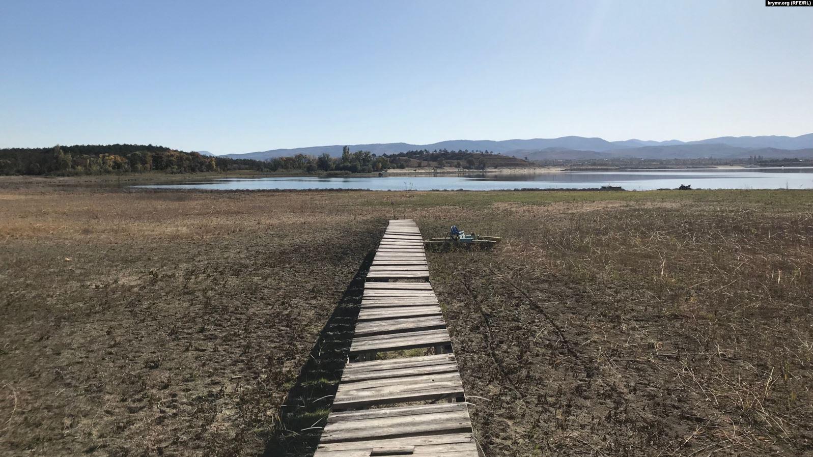 В анексованому Криму через посуху пересихають річки – активіст