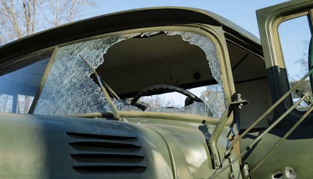 Окупанти випустили ракету по вантажівці ЗСУ, троє поранених