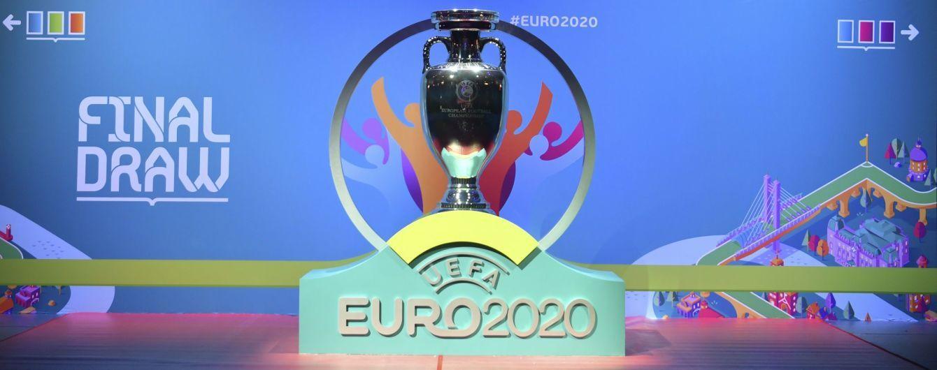 Збірна України дізналась суперників на Євро-2020
