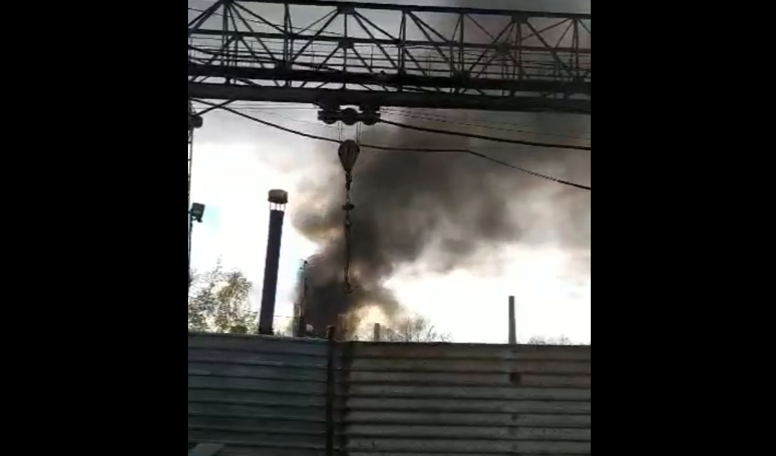 Управління з благоустрою оштрафувало підприємство, яке спалювало відходи виробництва