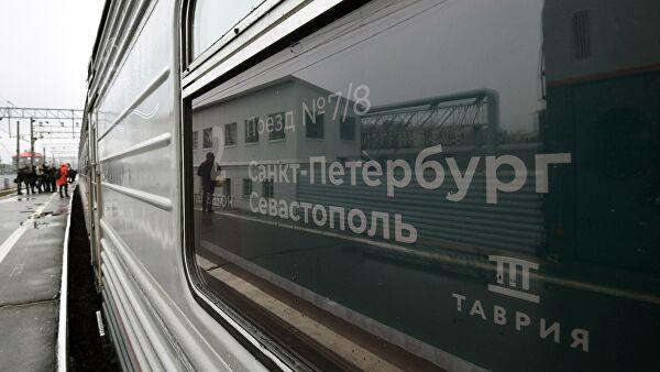Україна відкрила кримінальне провадження через проїзд російського поїзда до Криму