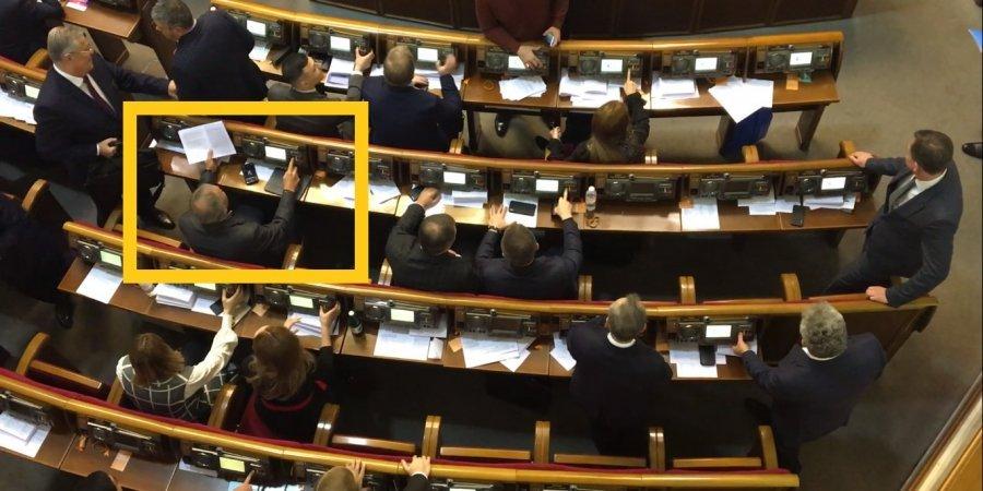 Депутат з ОПЗЖ встановив рекорд по кнопкодавству в Раді