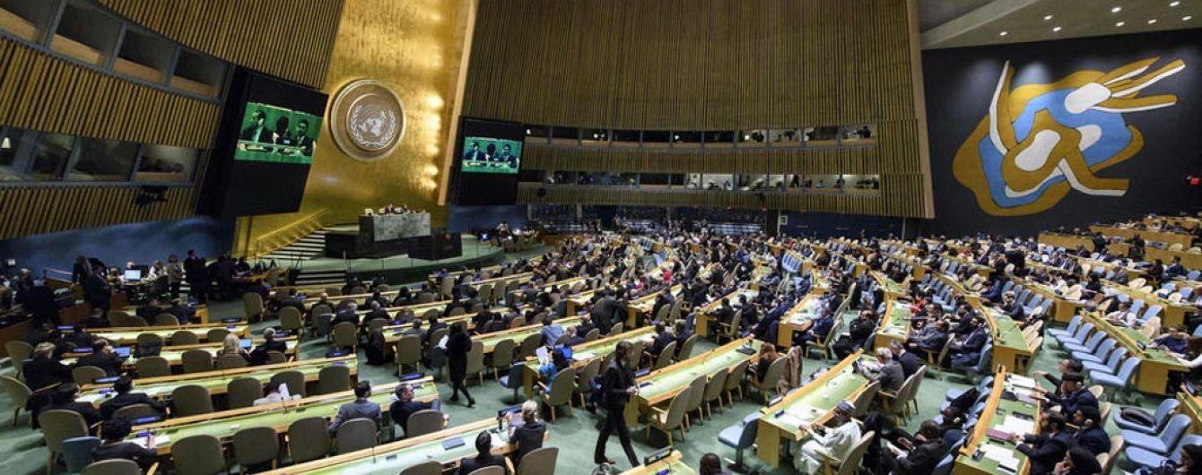 Генасамблея ООН ухвалила українську резолюцію про захист прав людини в окупованому Криму