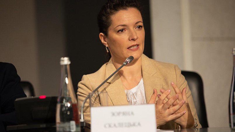 Скалецька пообіцяла, що українців лікуватимуть від коронавірусу безкоштовно