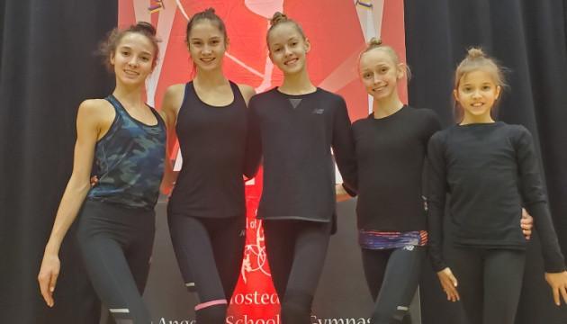 Українки завоювали 18 медалей на турнірі з художньої гімнастики у Лос-Анджелесі
