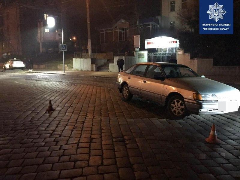 У Чернівцях п'яний учасник ДТП намагався втекти від патрульних