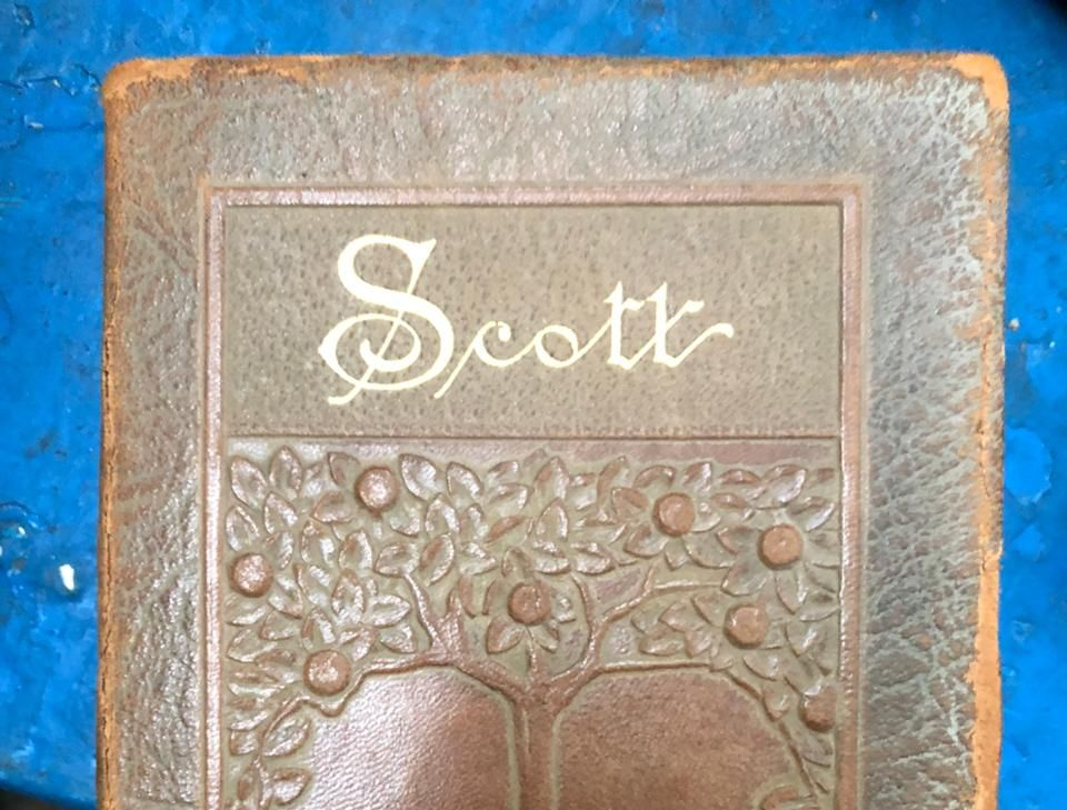 На Порубному вилучили збірку Вальтера Скотта, ікону та Біблію