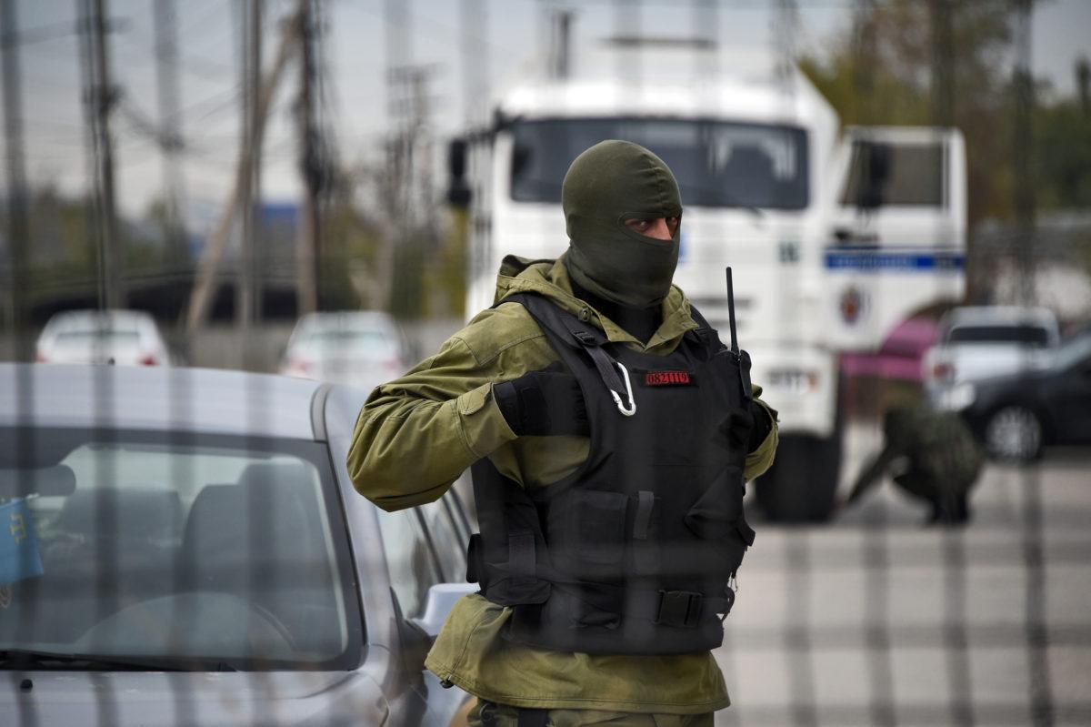 На Донбасі п'яний бойовик розстріляв своїх товаришів – штаб ООС