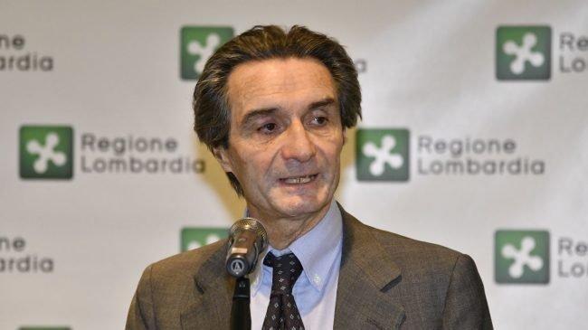 Губернатор італійської Ломбардії пішов на карантин (відео)