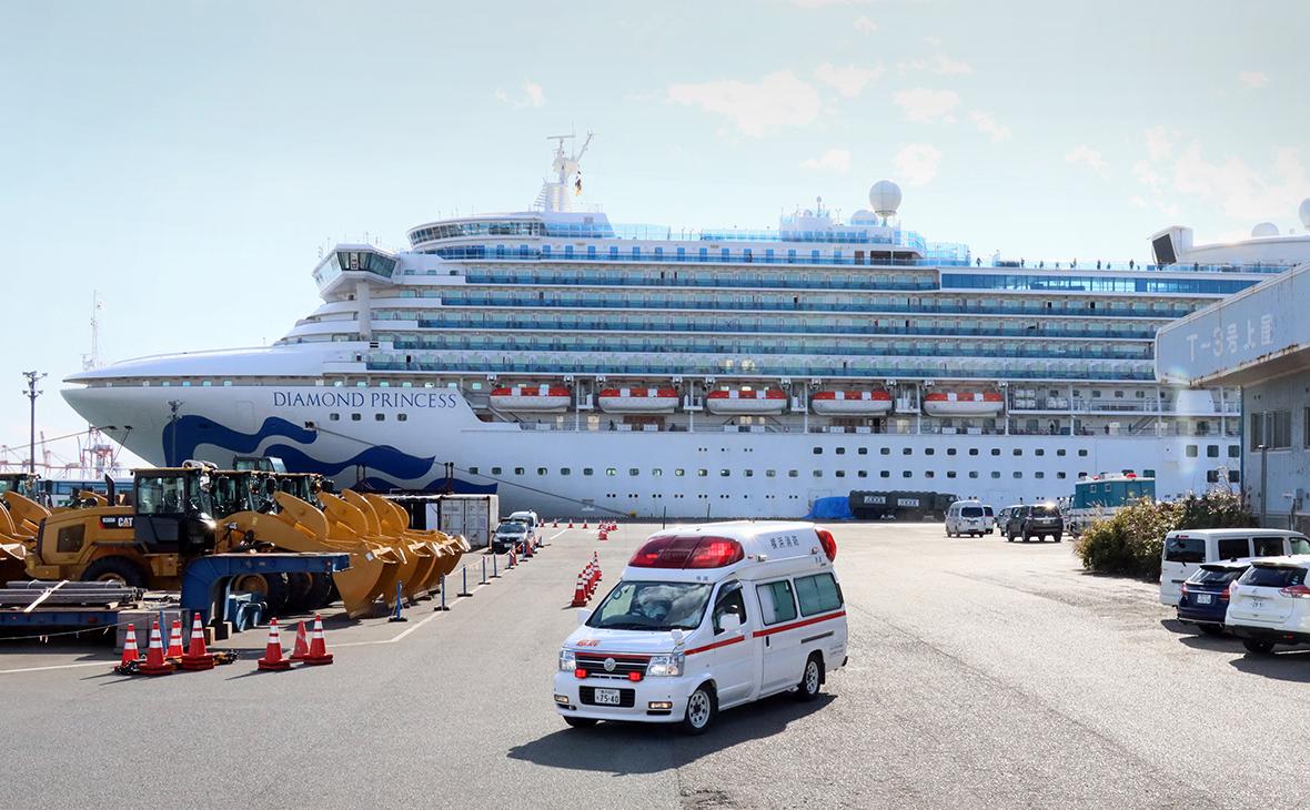 Вже 4 українців з лайнера Diamond Princess госпіталізували з коронавірусом