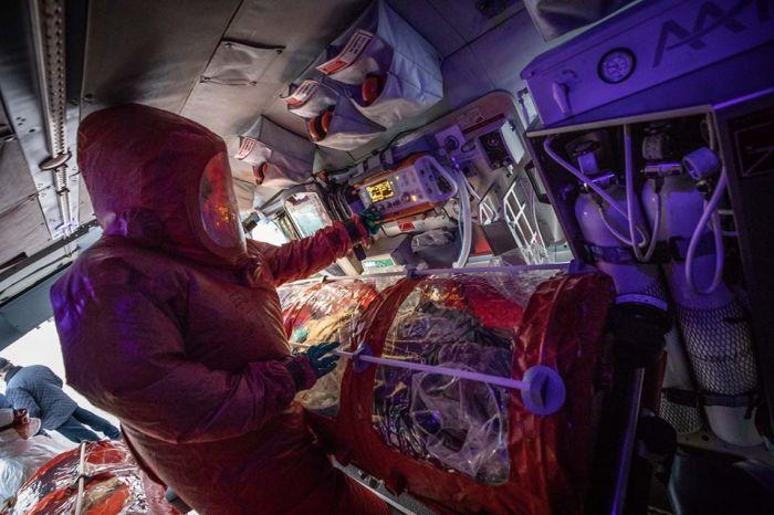 В ДСНС підготували вертоліт для транспортування заражених коронавірусом