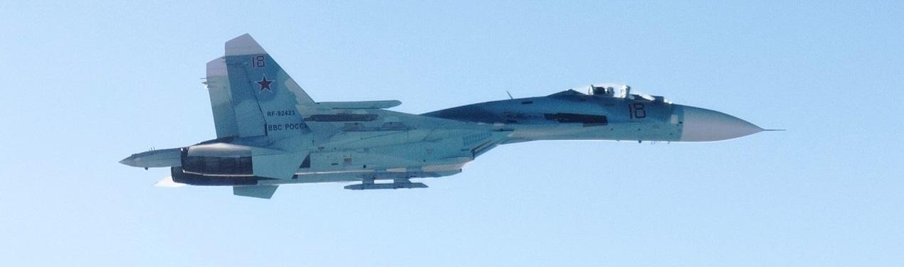 У Чорне море впав російський винищувач Су-27