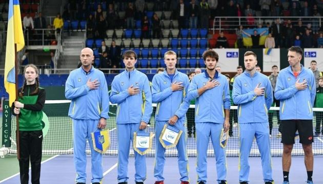 Україна здобула перемогу над Китайським Тайбеєм у Кубку Девіса