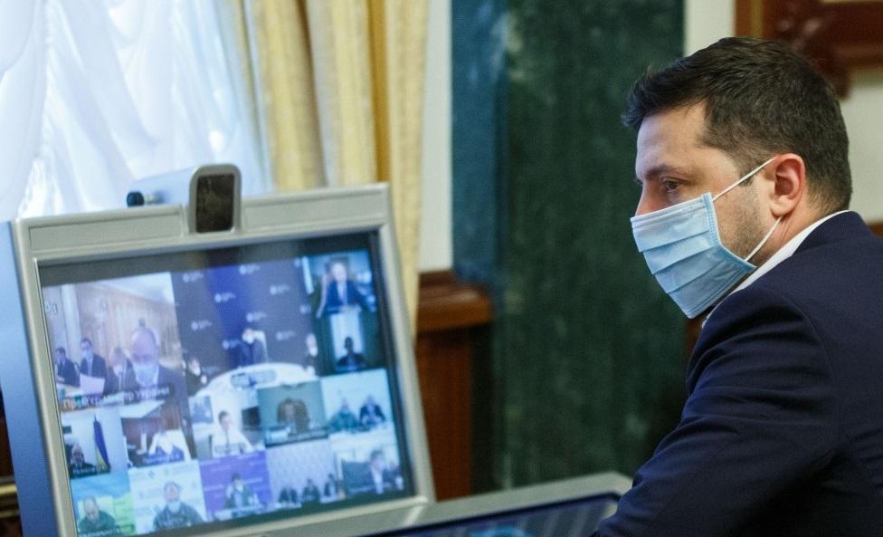 «Карантин дав результат»: Зеленський заявив, що зростання захворюваності на Covid-19 вдається стримувати