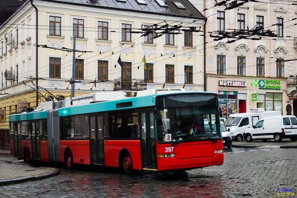 У Чернівцях припинили рух тролейбуси маршруту №2