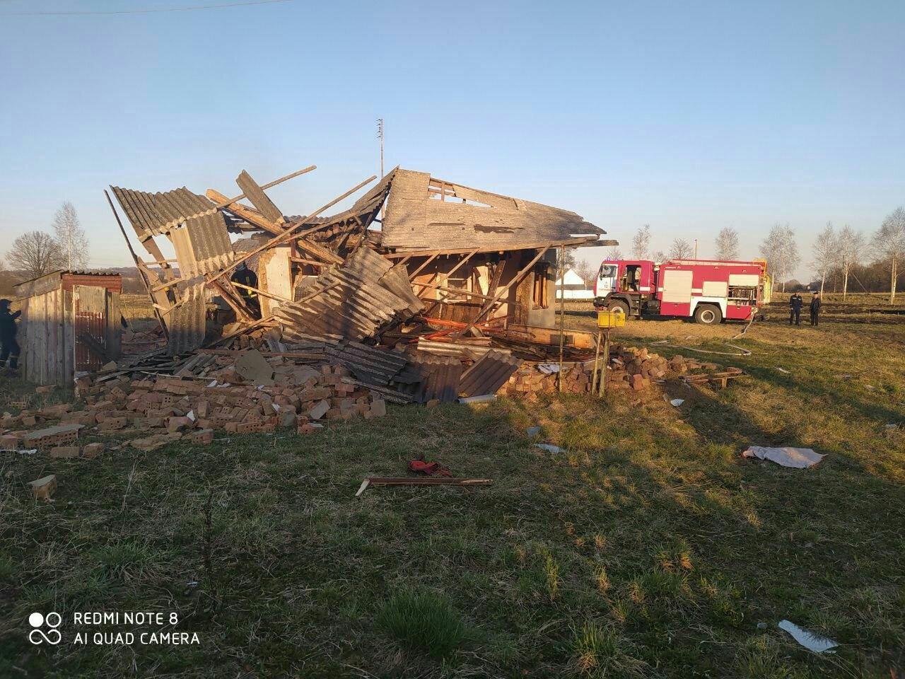 На Буковині вибухнув будинок через витік газу