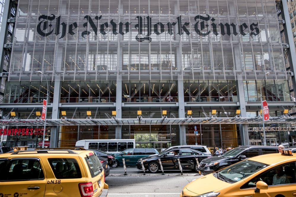 Посольство України закликало видання The New York Times виправити карту з «російським» Кримом