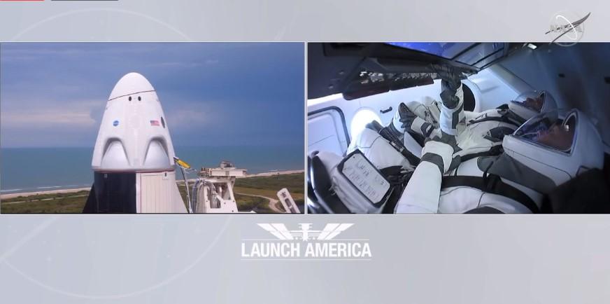 Запуск космічного корабля Crew Dragon перенесли через погодні умови