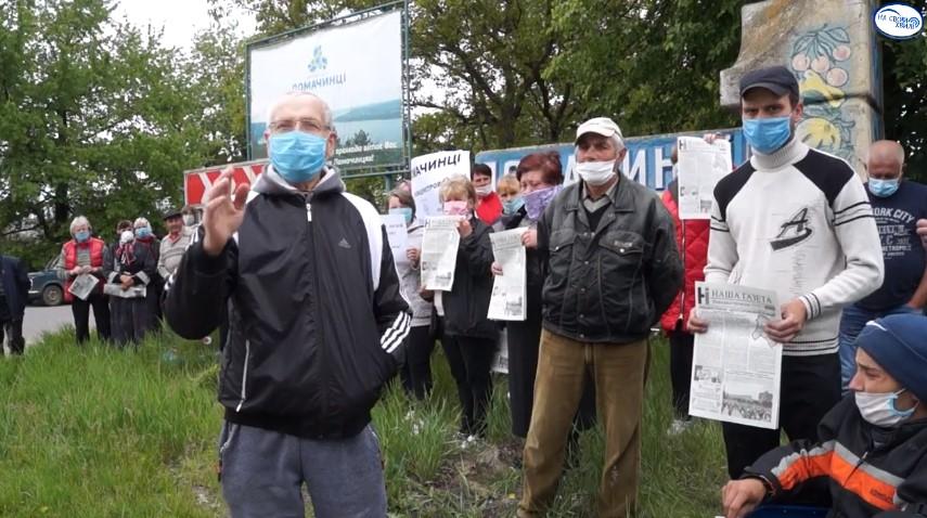 Жителі Ломачинців заявили, що їхнє майбутнє – у єдиній Новодністровській ОТГ (відео)