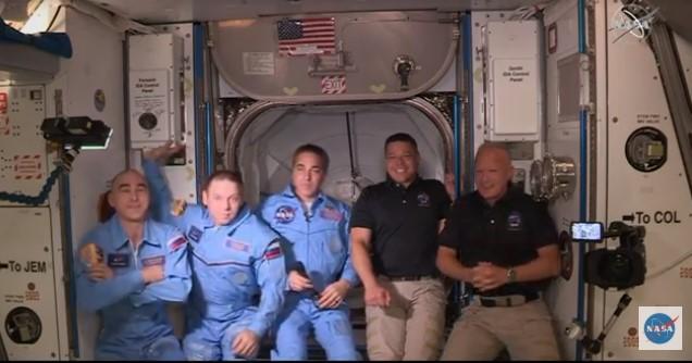 Американські астронавти зійшли на борт МКС