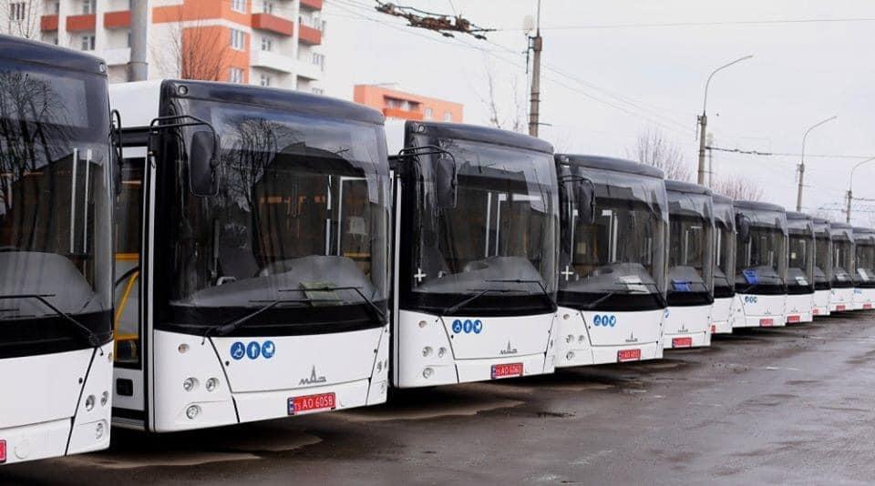 У Тернополі на маршрути виїхали нові комунальні автобуси – мер
