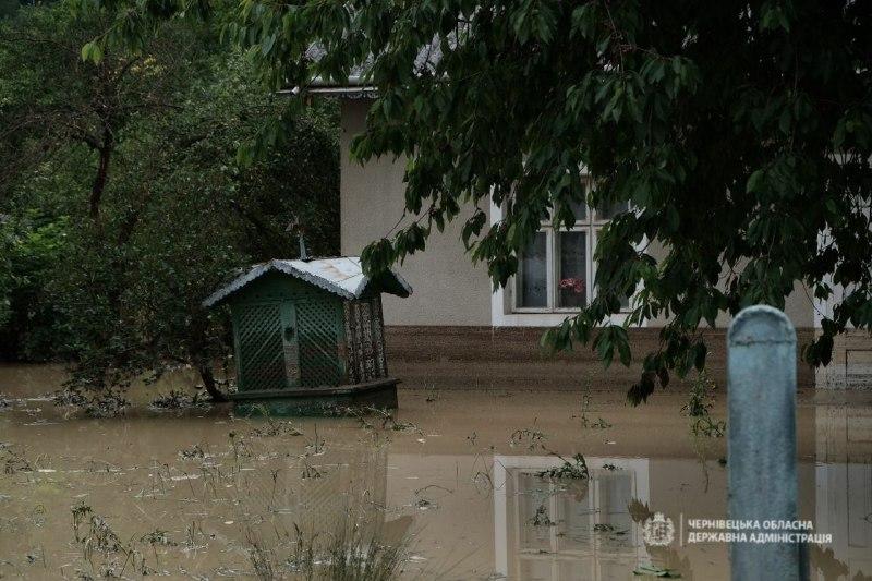 Наслідки повені на Буковині: ситуація станом на 29 червня