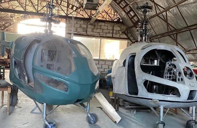 У Молдові викрили нелегальне виробництво гелікоптерів