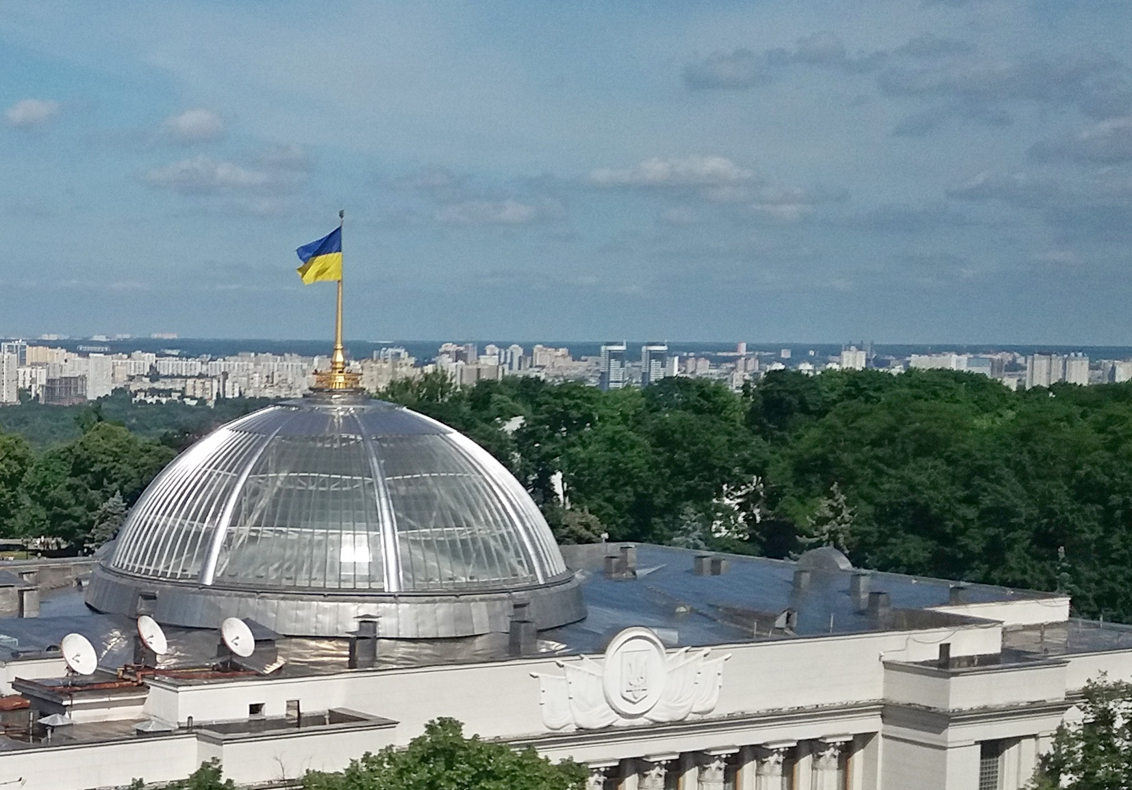 Голова Верховної Ради Дмитро Разумков скликає позачергове засідання парламенту на 8 вересня