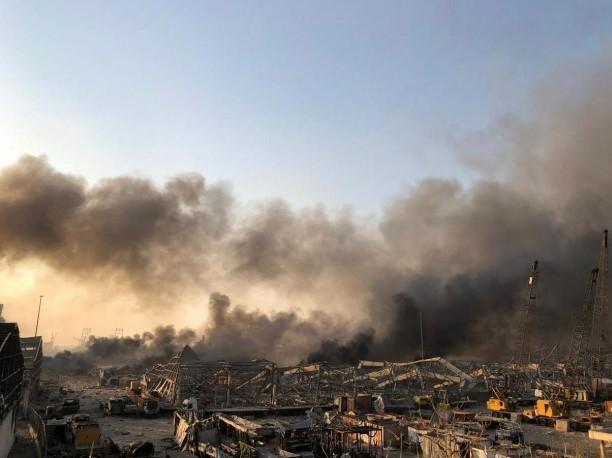 У Бейруті вибухнула аміачна селітра з судна російського бізнесмена