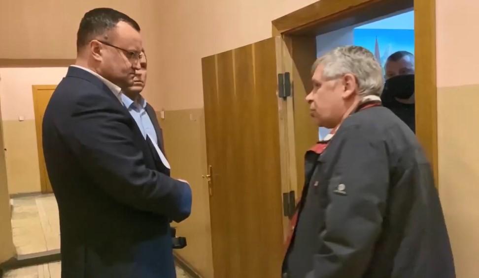 """Каспрука не пропустили на дебати з Клічуком на ТРК """"Чернівці"""""""
