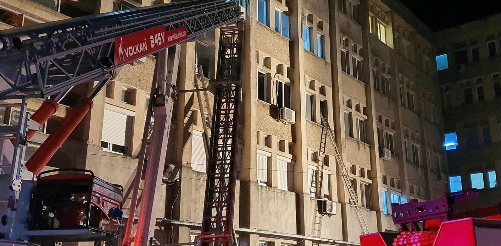 У Румунії горіла COVID-лікарня, десятеро загиблих