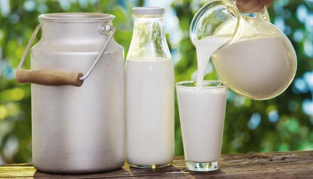 Виробництво молока в Україні зменшилося на 4,1%